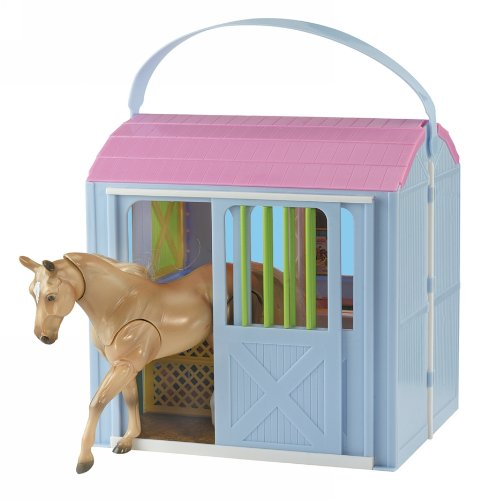 Breyer Pony Gals Two-Stall Travel Barn