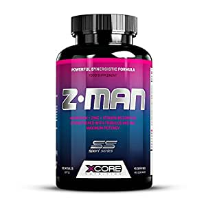 Xcore Z-MAN Suplementos - 90 Cápsulas