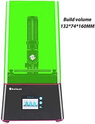 KELANT Flare Impresora 3D LCD de fotografía con pantalla táctil ...