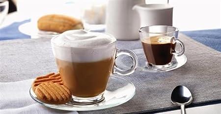 Endurecido 10 cl de cristal tazas del café express (3 œ angelsharkseries): Amazon.es: Bricolaje y herramientas