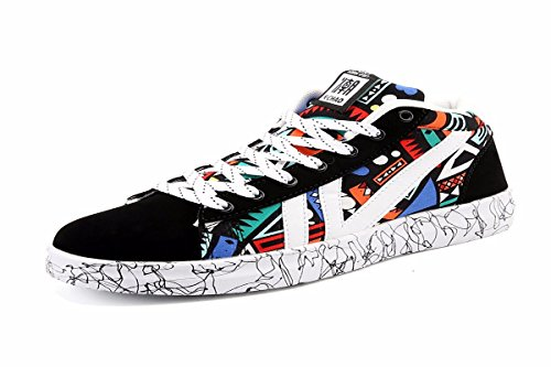 KMJBS-Los Zapatos De Lona De Los Hombres Zapatos Casuales De Clase Baja Todas Las Clases De Zapatos Transpirables Los Zapatos De Primavera.Treinta Y Cinco Black Thirty-five|black