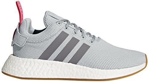 adidas Originals Women's NMD_r2 W Sneaker Grey Two/Grey Three/Shock Pink cheap sale footlocker KisfoA4PJ