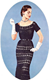 Crocheted Lace Cocktail Evening Party Dress Crochet Pattern