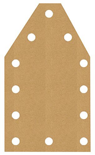 EyeConnect Chipboard Lace-Ups 6/Pkg-Large Tags, 2.7'X4.75'