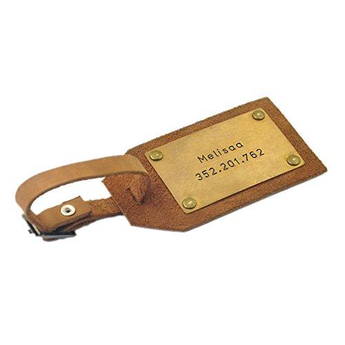 Custom Leather Luggage Personalized Husband product image