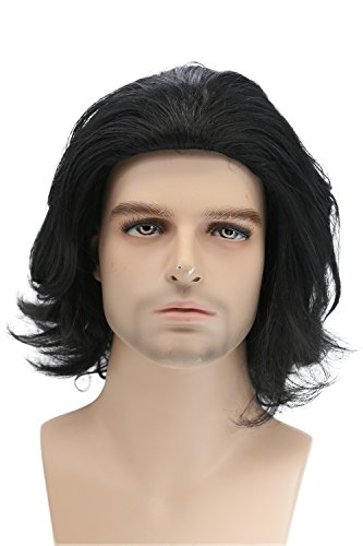 The Heat Movie Halloween Costume (Xcoser Kylo Ren Wig Movie Cosplay Pre-styled Costume Wig Hair Accessories Halloween Party)