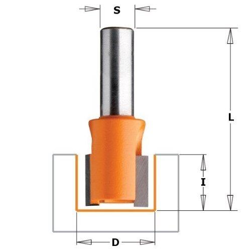 CMT Orange Tools 702.130.11 - Fresa para pernios s 6 d 13x12.7x57.15