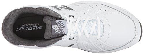 New Balance Herren mx409v3 Casual Komfort Trainingsschuh Weiß grau