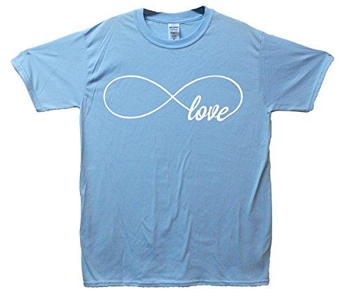 Endless Love T-Shirt - SkyBlau - Small (86cm-91cm)