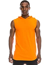 "<span class=""a-offscreen"">[Sponsored]</span>Longline Tanktop w/Side Zippers Sleeveless Hoodie Jacket (Big Size upto 6XL)"