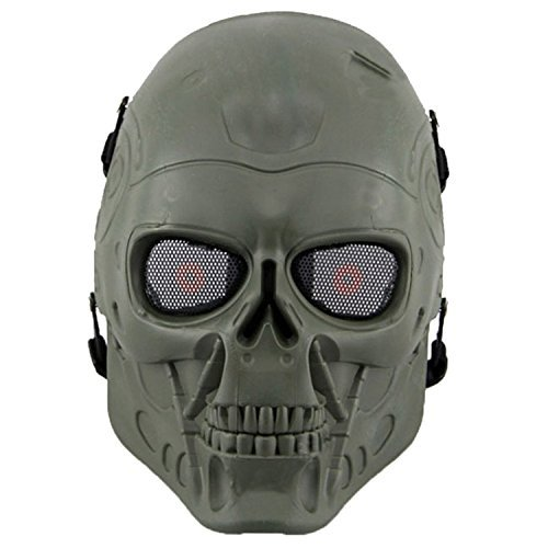 Bingxay Skull Skeleton Airsoft Paintball