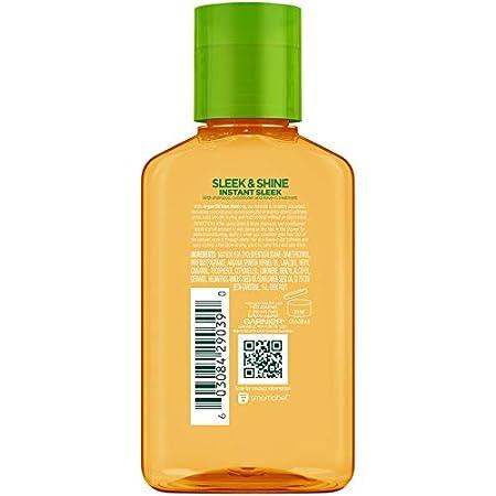 Garnier Fructis Sleek & Shine Moroccan Sleek Oil Treatment, Frizzy, Dry  Hair, 3 75 Fl  Oz
