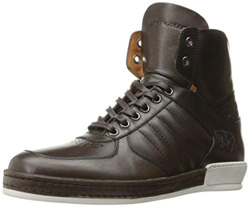 Bruno Magli Heren Siro Fashion Sneaker Donkerbruin