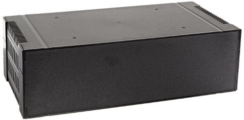 (BUD Industries PRM-14464 ABS Plastic Rackmount Box, 16-11/16