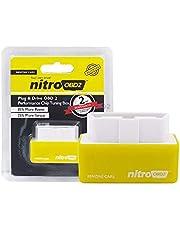 صندوق ضبط لرقاقة اقتصادية صفراء البنزين من نايترو OBD2 جهاز تحسين وقود الطاقة