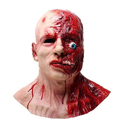 Creepy Vampire Costume (LEKA NEIL Halloween mask-Zombie mask-Vampire Mask-Creepy Costume Corpse Party Overhead Mask)