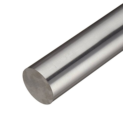 Titanium Round Bar - Online Metal Supply 6AL-4V Grade 5 Titanium Round Rod, Diameter: 0.750 (3/4 inch), Length: 12 inches