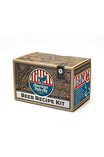 Home Brew Ingredient Kit - Craft a Brew 1 Gallon Beer Recipe American Pale Ale Beer Kit - Beer Recipe Kit - Make Your Own Beer with Home Brewing Kit (Best American Pale Ale)
