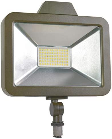 SYLVANIA Slim Floodlight 1A, Efficient 30W, Daylight White 5000K, 1 pack