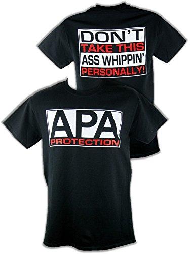 f55e6eaf9 Amazon.com: Hybrid Tees APA Protection Agency Ron Simmons JBL Mens T-Shirt  Black: Clothing