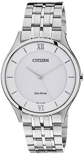 Citizen Eco-Drive White Dial Men's Watch AR0070-51A
