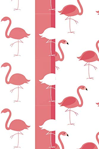 Silhouette Flamingo: Flamingo Lovers Gift Lined Notebook Journal 110 Pages ()