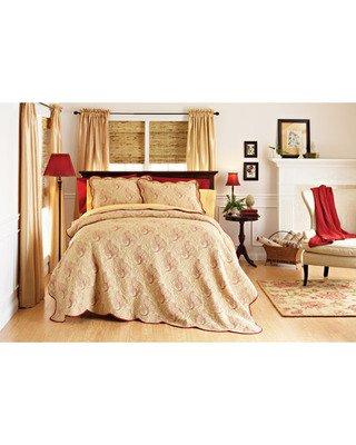 Amazon.com: Better Homes and Gardens Pembroke Matelasse Quilt ... : home and garden quilts - Adamdwight.com