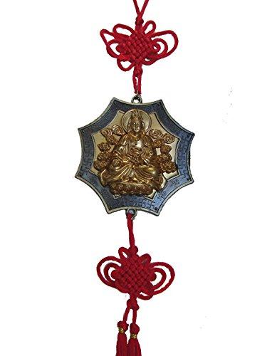 Feng Shui Import Guan Yin Metal Charm