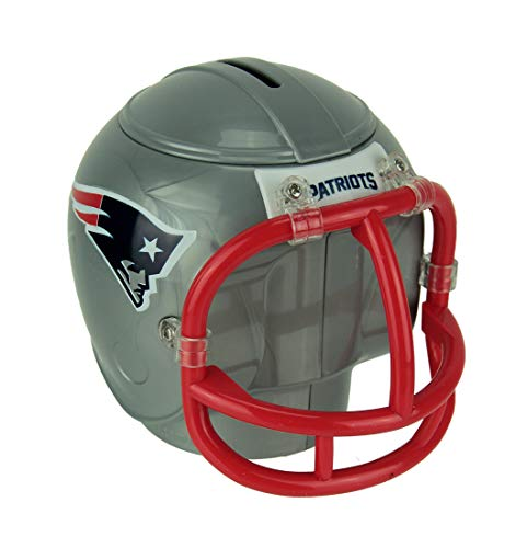 Marketing Results NFL New England Patriots Mini Helmet Coin Bank