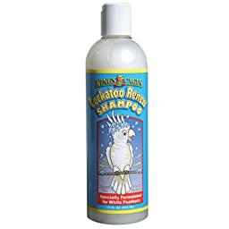 KING\'S CAGES COCKATOO RENEW SHAMPOO 17oz parrot macaw bird cage bath