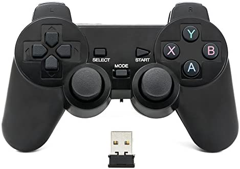 QUMOX 2.4GHz Wireless Gamepad Joystick Joypad Game Controller for PC Cant Support win10