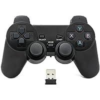 QUMOX 2.4GHz Wireless Gamepad Joystick Joypad Game Controller For PC