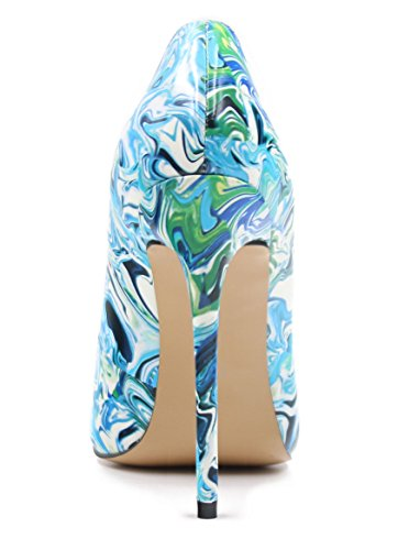 Talons Aiguille Escarpins Chaussures Talon Grande Taille A Femme Multicolore Ubeauty Femmes Stilettos nzR7wC4q