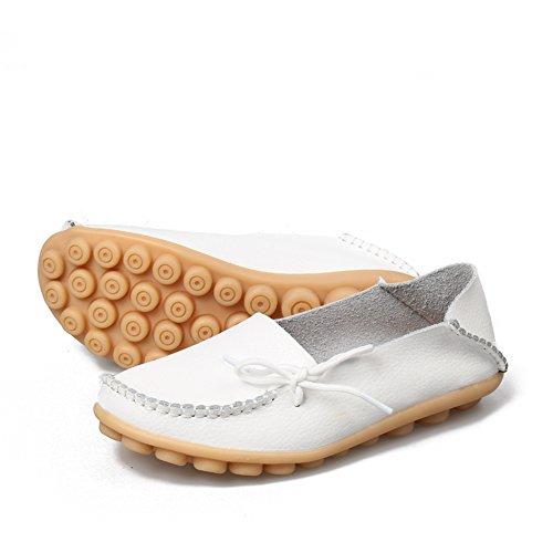 Blanc Sandales Plateforme Loafer Joansam Flat Femme qUwF0YS
