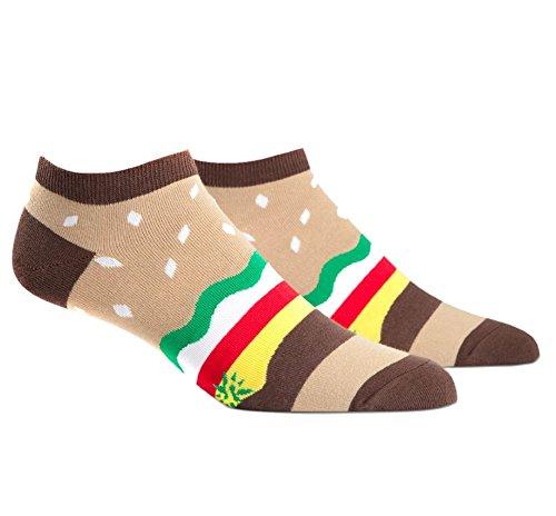 sock-it-to-me-mens-burger-ankle-socks