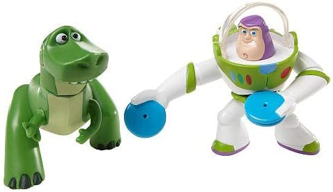 TOY STORY by DISNEY PIXAR, BUDDY PACK, REX AND DISC BUZZ LIGHTYEAR ...
