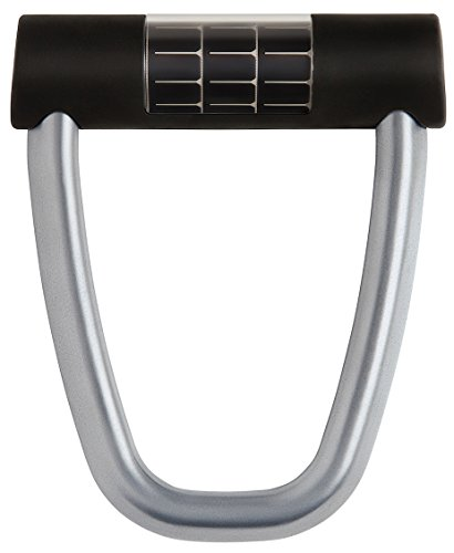 Lattis Ellipse Keyless Smart Bike Lock with Theft Detection, Charcoal Grey