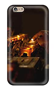 Hot Fashion NBGGTOd2205jleDG Design Case Cover For Iphone 6 Protective Case (candle)