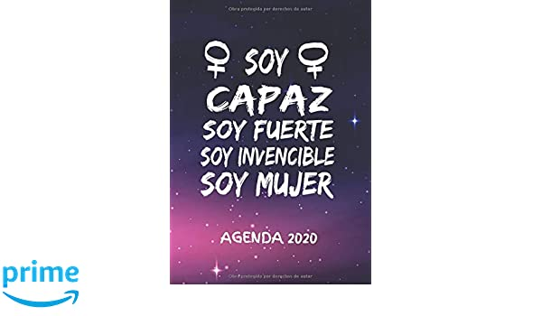 Soy Capaz Soy Fuerte Soy Invencible Soy Mujer Agenda 2020 ...