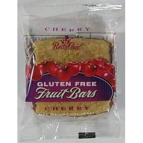 Betty Lou's Fruit Bars, Cherry, 2 Ounce (Pack of 12) (Cherry Dry Fruit)