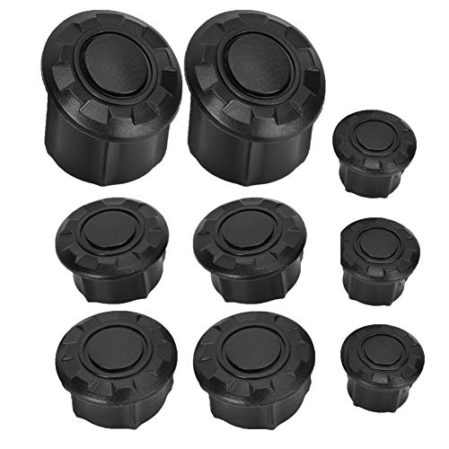 Acouto Motorcycle Frame Hole Cover Caps Frame Plug Kit Frame For R1200GS LC Adventure 14-18