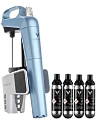Coravin 112176 Limited Edition Bundle Wine Preservation System, One Size, Steel Blue