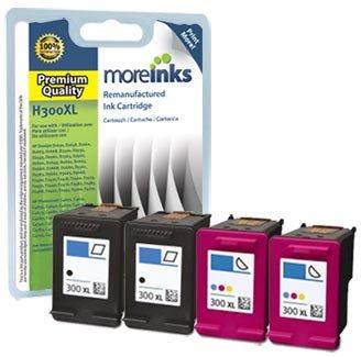 4 cartuchos de tinta para impresora HP Deskjet F2492, color ...