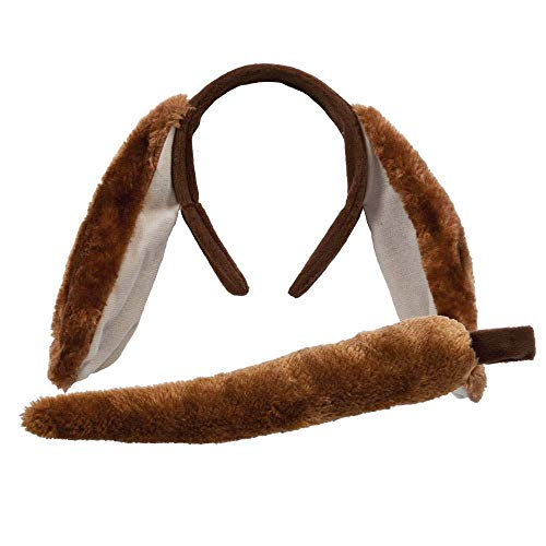 (Animal Ears & Tail Set - Dog Kids Unisex)