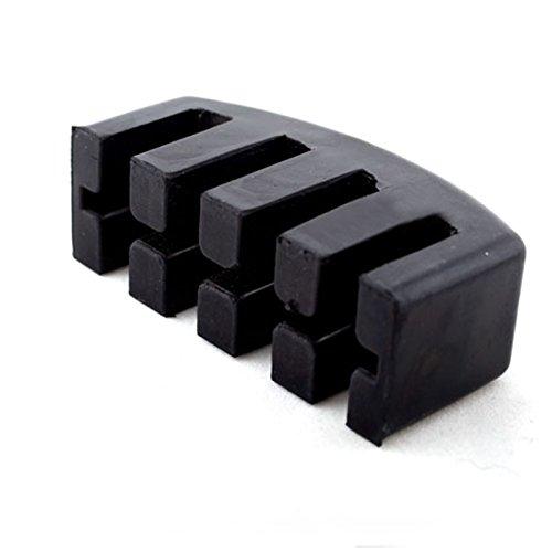 Forfar 12 34 44 Violine Schalldämpfer Echte Schwer Gummi Durable