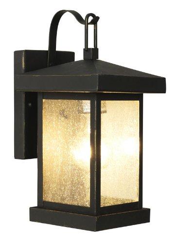 Bel Air Lighting Weathered Bronze Outdoor Wall Light