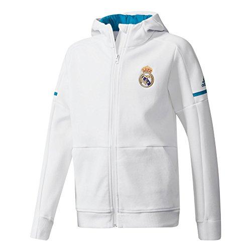 Real Y Niños Adidas Madrid Chaqueta Blanco Línea Sqd Anth 164 nqfnw1xAXR c098d9338f409