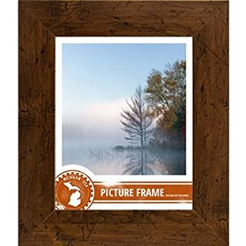 craig frames fm74dkw 18 by 24 inch pictureposter frame smooth grain finish 2 inch wide dark brown