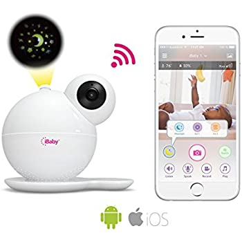 Amazon.com : iBaby M7 Baby Monitor 1080P with Thousands of lullabies ...