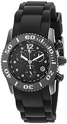 Swiss Legend Women's 10128-01-SA Commander Diamonds Analog Display Swiss Quartz Black Watch
